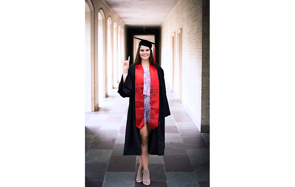 University of Texas Graduation Photography